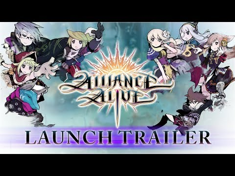 لعبة الأدوار The Alliance Alive تحصل على عرض الإطلاق