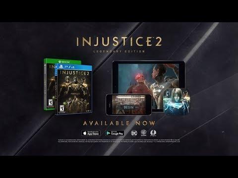 العرض الدعائي لنسخة الـLegendary Edition من لعبة Injustice 2
