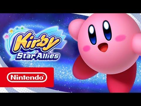 Kirby Star Allies تحصل على عرض الإطلاق