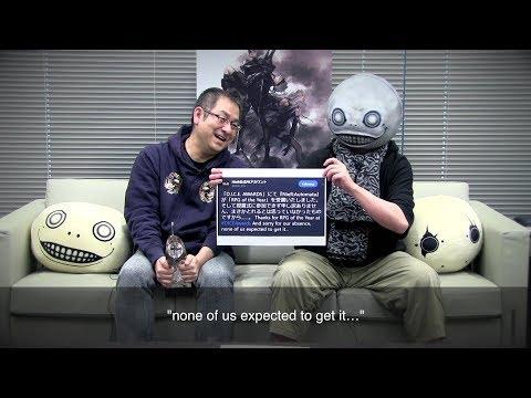 NieR: Automata تحصل على جائزة أفضل لعبة أر بي جي للعام في حفل D.I.C.E. Awards وسكوير إينكس تتوجه بالشكر