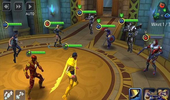 لعشاق العاب القتال جرب DC Legends: Battle For Justice
