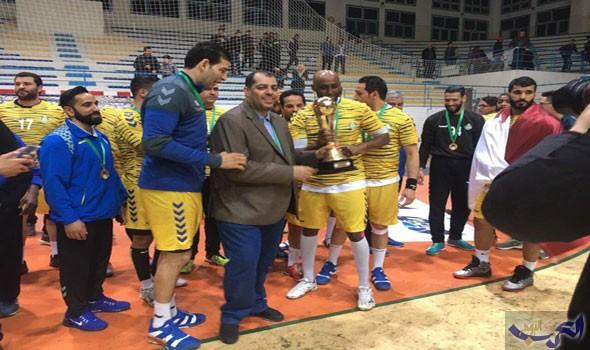 نادي الغرافة القطري يتوج بالبطولة العربية لكرة اليد