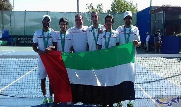 منتخب الإمارات يتوج بكأس النصر ليغرلاند للتنس