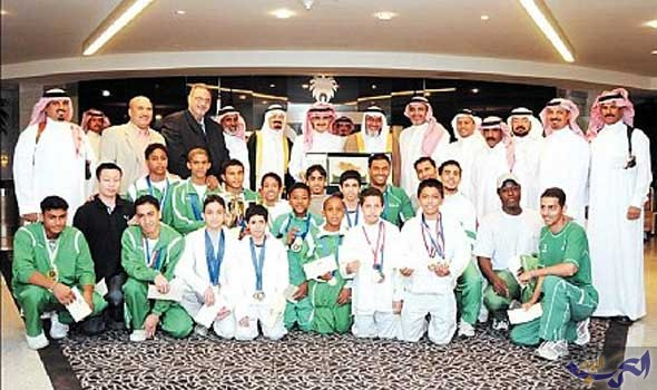اتحاد الجمباز السعودي يكرم الصايغ لحصوله على المركز الرابع في بطولة العالم
