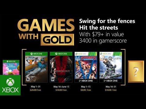 الإعلان عن قائمة ألعاب Games with Gold لشهر مايو 2018 (قائمة حافلة)