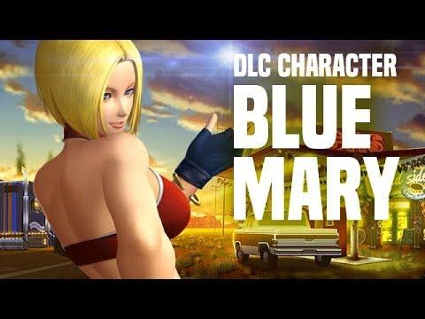 الإعلان عن الشخصية الإضافية Blue Mary للعبة القتال The King of Fighters XIV