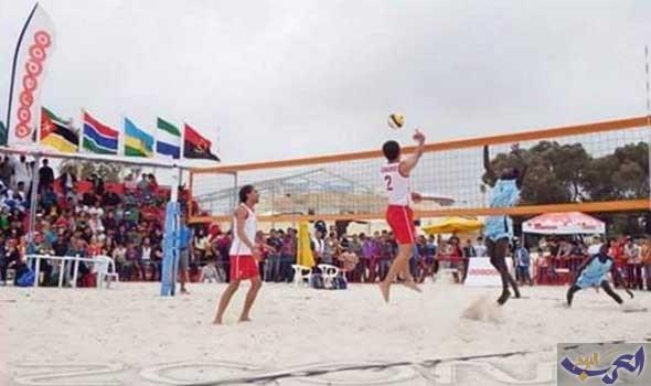 منتخب تونس لكرة الطائرة الشاطئية يشارك في أمم أفريقيا