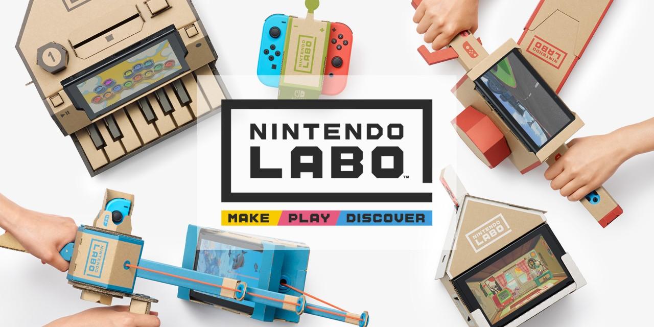 مجموعة جديدة من الإعلانات التلفزيونيه للعبة Nintendo Labo