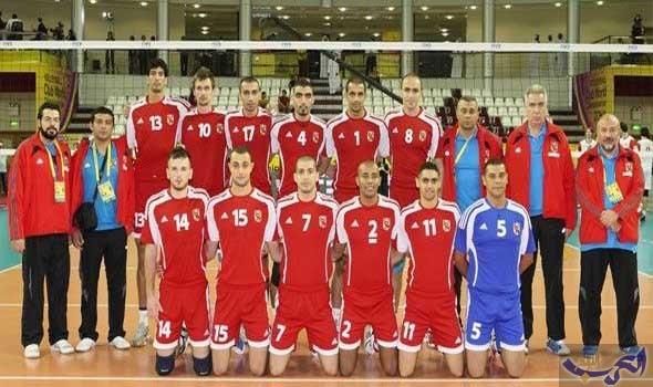 تتويج فريق كرة الطائرة في الأهلي بلقب البطولة الأفريقية للأندية