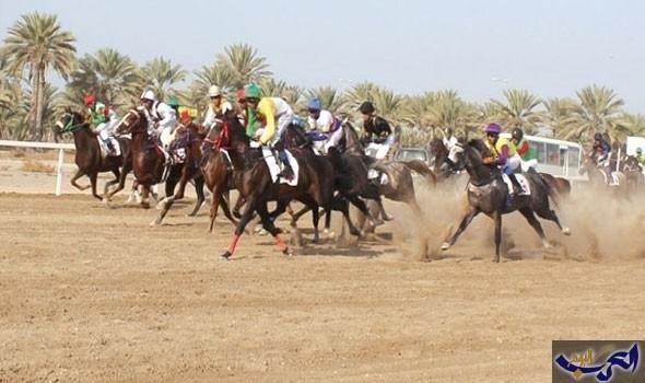 الخيول العربية الأصيلة تعود إلى أجواء المنافسة في سباقات السرعة