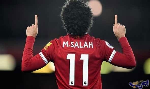 """ليفربول يصف محمد صلاح بـ """"الملك المصري"""""""