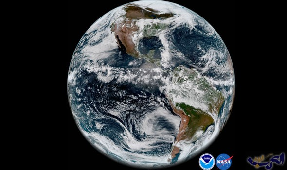 ناسا تنشر صورة لكوكب الأرض ترد على أصحاب النظرية المسطحة