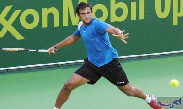 لاعب التنس المصري محمد صفوت يخسر في بطولة شيمكنت للتنس