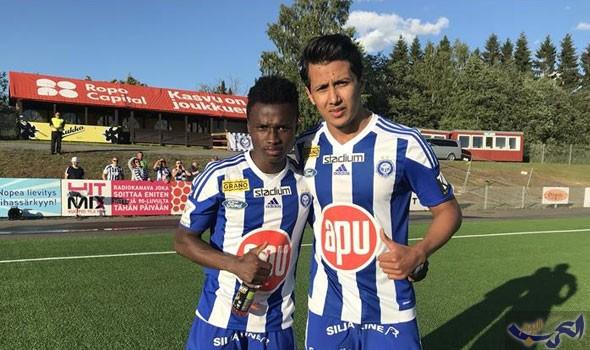 عمرو جمال ينقذ فريقه من الهزيمة ويسجل أول هدف في الدوري الفنلندي