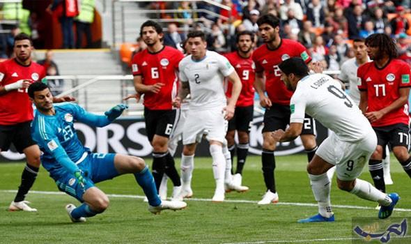 """""""تليغراف"""" البريطانية تشيد بأداء المنتخب المصري أمام روسيا في المونديال"""